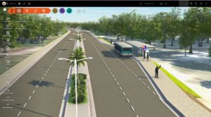 Infraworks road & landscaping