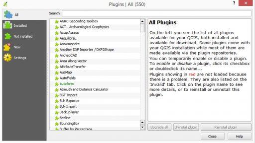QGIS Plugins